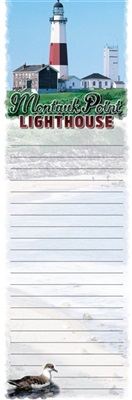 Montauk Point Lighthouse Magnetic Notepad