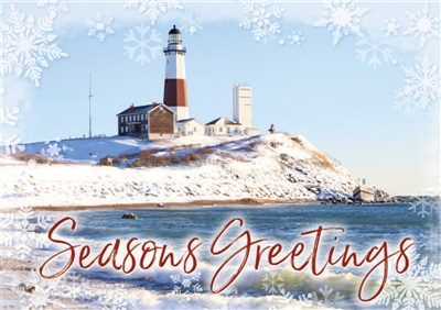 Montauk Lighthouse Holiday Cards
