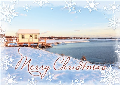 Crab's Shack, Orient Christmas Cards