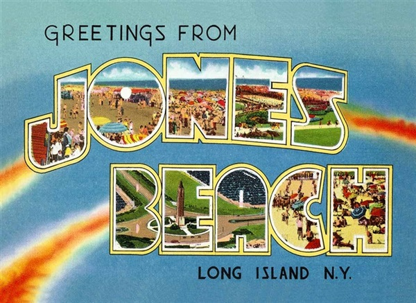 Jones Beach Magnet #2