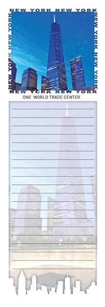 One World Trade Center Magnetic Notepad