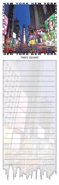 Times Square Magnetic Notepad