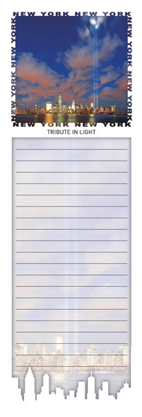 Tribute in Light Magnetic Notepad