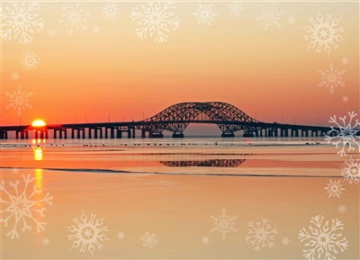 Robert Moses Twin Causeway Christmas Cards