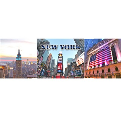 New York Multiview #3 Magnet