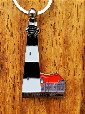 Fire Island Lighthouse Keyring