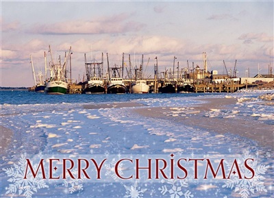 Shinnecock Bay, Hampton Bays Christmas Cards