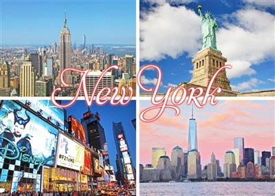New York Multiview Magnet #12