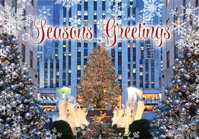 Rockefeller Center Holiday Card